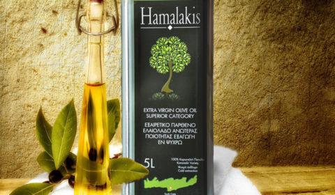 Ελαιόλαδο Ανώτατης Ποιότητας - Hamalakis.