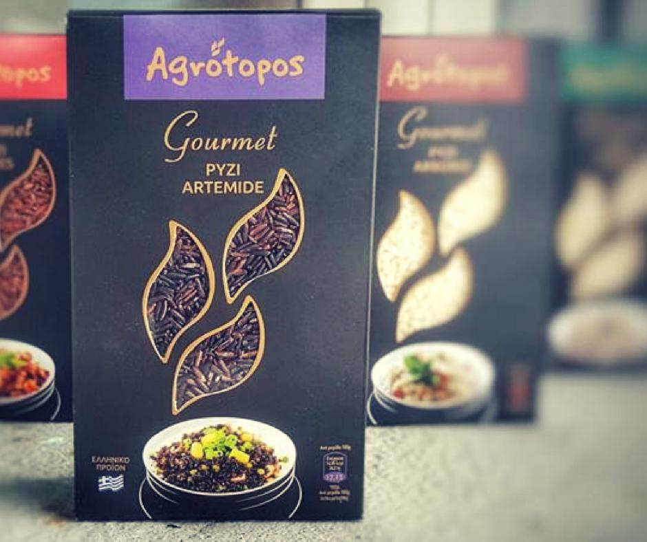 Ρύζι Artemide από τη νέα σειρά Agrotopos Gourmet