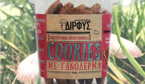 Μπισκότα γανόδερμα μήλο κανέλλα 150g