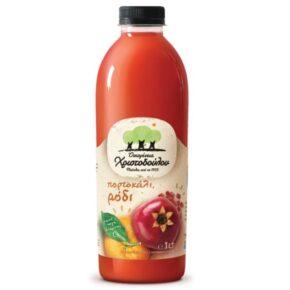 Χριστοδούλου Χυμός Ρόδι & Πορτοκάλι 1λιτ