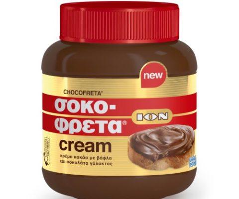 ION Σοκοφρέτα Cream 380gr