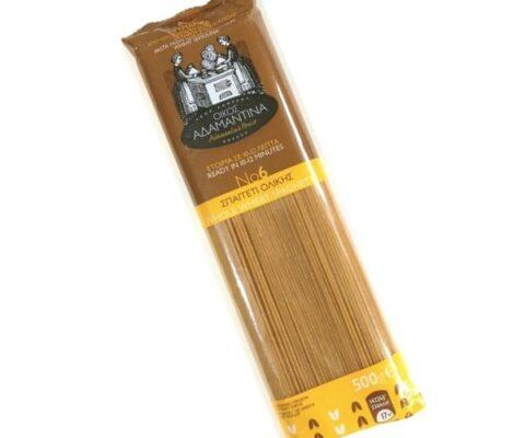 ΑΔΑΜΑΝΤΙΝΑ Spaghetti Ολικής Αλέσεως σίτου 200