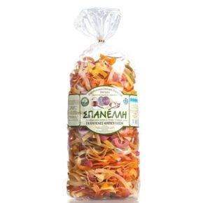 Σπανέλλη Ζυμαρικά - Ταλιατέλες Κηπευτικών 500γρ