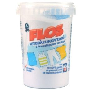 Flos Υπερλευκαντικό Ρούχων Σκόνη 600gr