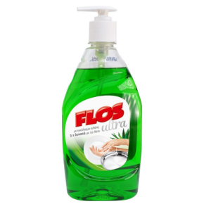 Flos Ultra Απορρυπαντικό πιάτων 430ml με αντλία