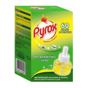 Pyrox Εντομοαπωθητικό Υγρό Ανταλλακτικό 60 Νύχτες