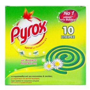 Pyrox Spiral Εντομοαπωθητικές Σπείρες 10τμχ