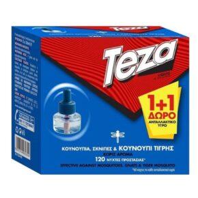 Teza Εντομοαπωθητικό Υγρό Ανταλλακτικό 1+1Δώρο