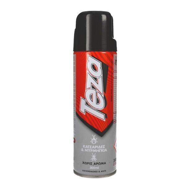 Teza Εντομοκτόνο Spray Για Κατσαρίδες & Μυρμήγκια 300ml