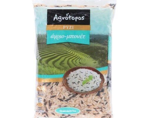 Αγρότοπος Ρύζι Άγριο -Μπονέτ 500γρ