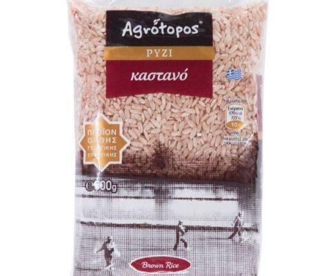 Αγρότοπος Ρύζι Καστανό 500γρ