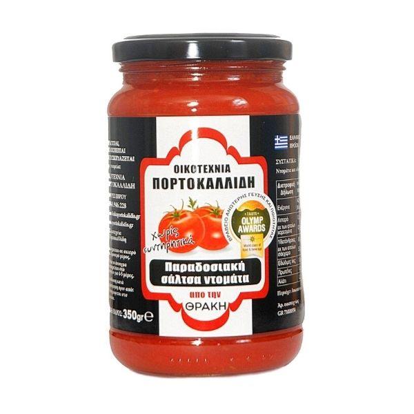 Οικογένεια Πορτοκαλλίδη Παραδοσιακή Σάλτσα τομάτας 350γρ