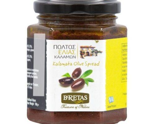 Bretas Olive Παστά ελιάς καλαμών 180γρ